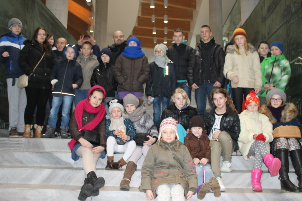 Nasi goście - Dzieci z Domu Dziecka w Białowieży